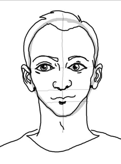gezicht tekenen t puttertje