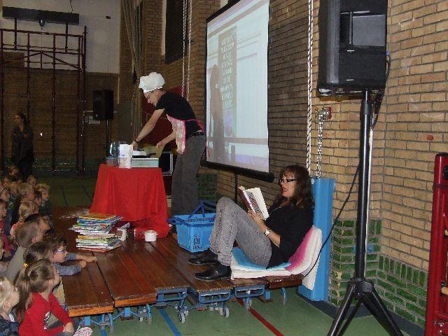 opening kinderboekenweek op de Parkiet